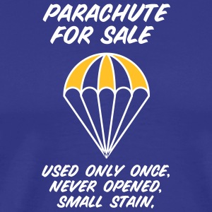 Parachute For Sale.Only Once Opened! - Herre premium T-shirt