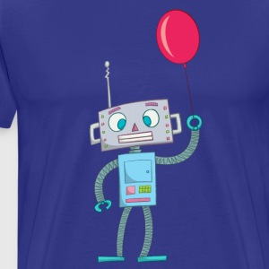 Cute Robot Kids Tees - Premium T-skjorte for menn