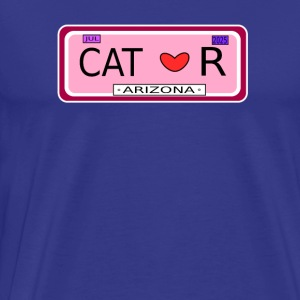 Cat Fun car sign - Men's Premium T-Shirt