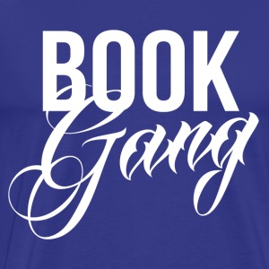 Book Gang - Herre premium T-shirt