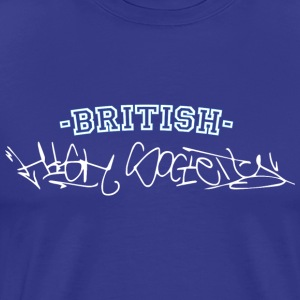 british high society Graffiti Style - Men's Premium T-Shirt