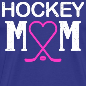 Hockey Mum Gift - Men's Premium T-Shirt