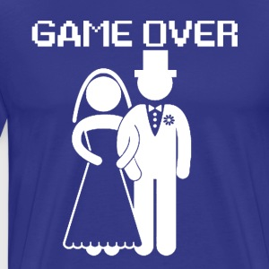 GAME OVER - Premium-T-shirt herr