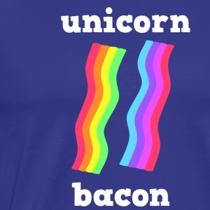 UNICORN BACON STRIPS - Men's Premium T-Shirt