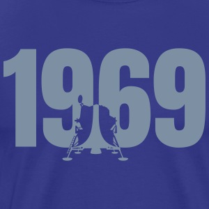 alunissage en 1969 • couleur design modifiable! - T-shirt Premium Homme