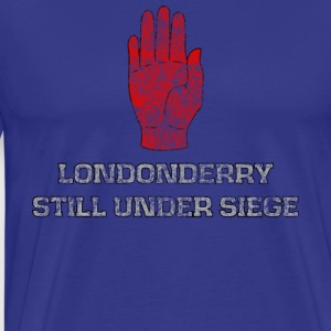 LONDONDERRY STILLER UNDER SIEGE - Herre premium T-shirt