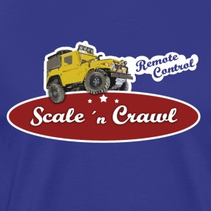 Scale and Crawl - Männer Premium T-Shirt