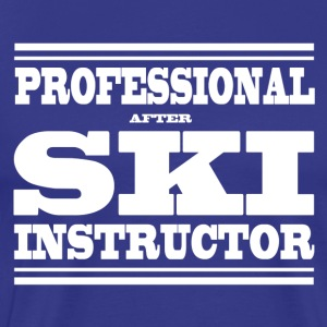 SKI INSTRUCTEUR - T-shirt Premium Homme