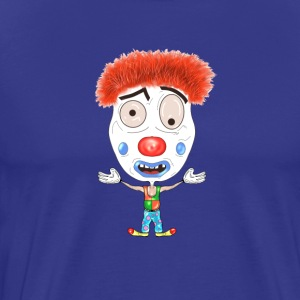LOGO Clown - Premium T-skjorte for menn