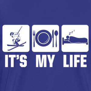 Ski is my life - Männer Premium T-Shirt