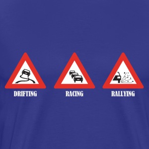 Drifting Racing Rallying - Men's Premium T-Shirt