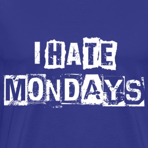 hatemondays - Premium-T-shirt herr