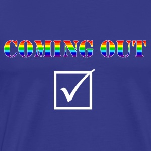 Coming out 2 - Männer Premium T-Shirt
