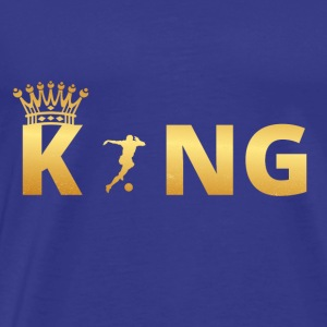 gift, gift, king, master, god, women, football, socce - Men's Premium T-Shirt