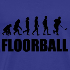 Floorball - T-shirt Premium Homme