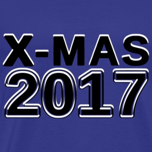 X-mas Christmas 2017 Christmas number - Men's Premium T-Shirt