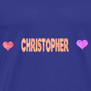 Christopher - Premium-T-shirt herr