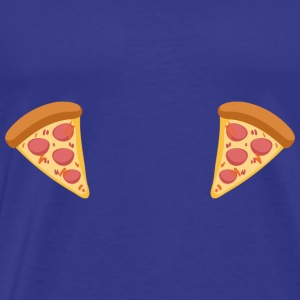 PIZZA TITS - Men's Premium T-Shirt