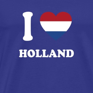 i love home gift country HOLLAND - Men's Premium T-Shirt