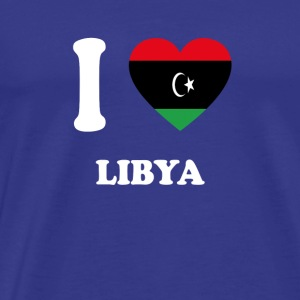 i love home gift country LIBYA - Men's Premium T-Shirt