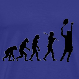 Tennis evolution - Mannen Premium T-shirt