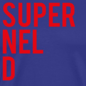 SuperNELdRED-01 - Premium-T-shirt herr