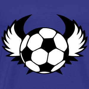 Soccer with wings - Men's Premium T-Shirt