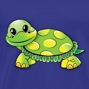 Turtle Illustration - Kinder Motiv - Männer Premium T-Shirt