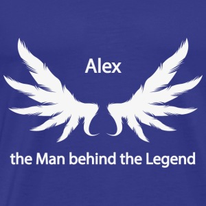 Alex Manden bag Legend - Herre premium T-shirt