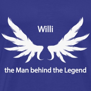 Willi the Man behind the Legend - Men's Premium T-Shirt