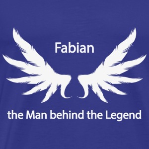 Fabian the Man behind the Legend - Männer Premium T-Shirt