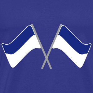 Flag blue-white | Flag | Football | Stadion - Men's Premium T-Shirt