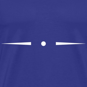 Thin header separator with dot - Men's Premium T-Shirt