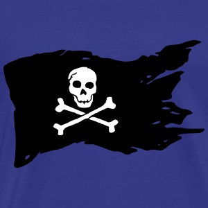 Jolly Roger (el color adaptable!) - Camiseta premium hombre