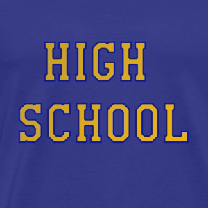 High school - Men's Premium T-Shirt