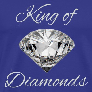 King of Diamonds - Maglietta Premium da uomo