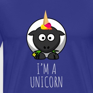 I'm a unicorn - funny sheep - Men's Premium T-Shirt