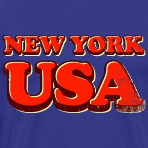new york usa 3c - Men's Premium T-Shirt