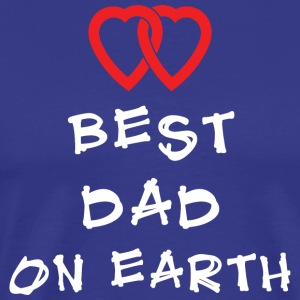 Best Dad On Earth - Miesten premium t-paita