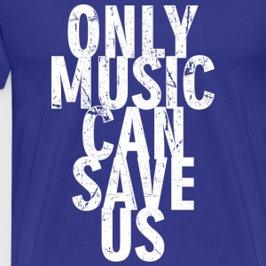 Music can Save Us - Men's Premium T-Shirt