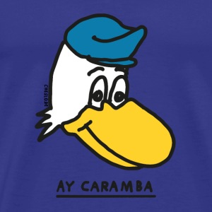 Ay Caramba by cheslo - Men's Premium T-Shirt