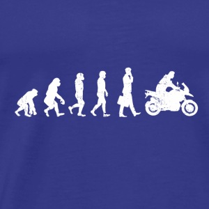 MOTORCYCLE BIKER EVOLUTION SUPERBIKE MOTORCYCLE BIKE - Men's Premium T-Shirt