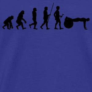 Evolución del atleta regalo de la camiseta Cross Fit