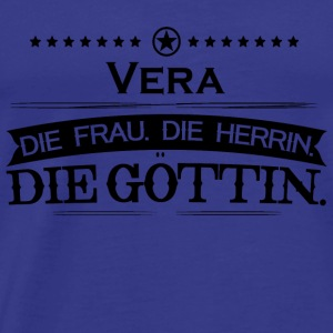 birthday goettin vera - Men's Premium T-Shirt