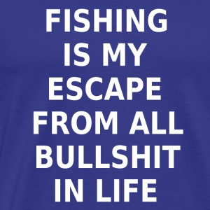 Fishing Fishing Angler Statement T-Shirt - Men's Premium T-Shirt