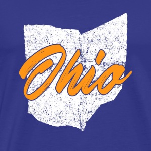 I Love My Ohio Hjem - Herre premium T-shirt