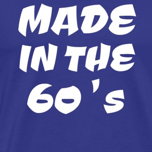 made in the 60's - Männer Premium T-Shirt