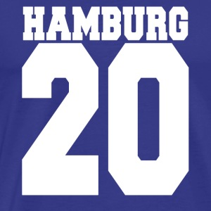 Hamburg 20 By Land gave - Herre premium T-shirt