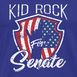 Kid for US Senate Rock Election American 2018 - Men's Premium T-Shirt