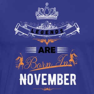 november - Herre premium T-shirt